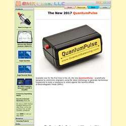 QuantumPulse Latest 2013 Model - Designed for Relief from ElectroMagnetic Fields - Replaces the EM Pulse