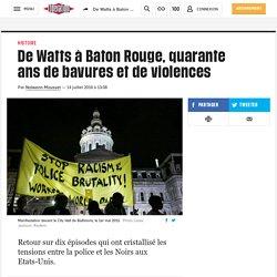 De Watts à Baton Rouge, quarante ans de bavures et de violences