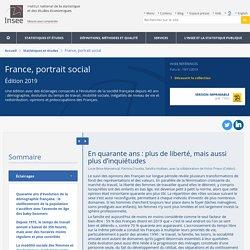 En quarante ans: plus de liberté, mais aussi plus d'inquiétudes − France, portrait social