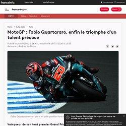 MotoGP : Fabio Quartararo, enfin le triomphe d'un talent précoce