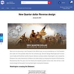 New Quarter dollar Reverse design