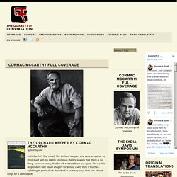 Cormac McCarthy Full Coverage