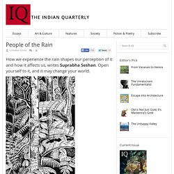 The Indian Quarterly – A Literary & Cultural Magazine – People of the Rain