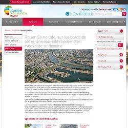 Projet Urbain Rouen Seine Cité, nouveau quartier d'affaires à Rouen - Rouen Normandy Invest