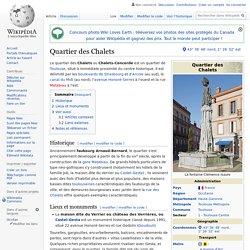 Quartier des Chalets