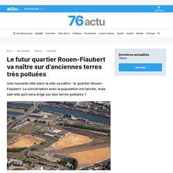 Le futur quartier Rouen-Flaubert va naître sur d'anciennes terres très polluées