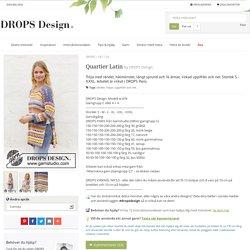 Quartier Latin / DROPS 187-24 - Gratis virkmönster från DROPS Design