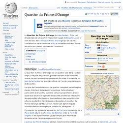 Quartier du Prince d'Orange