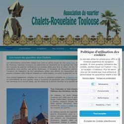 Les tours du quartier des Chalets - Quartier Chalets Roquelaine Toulouse