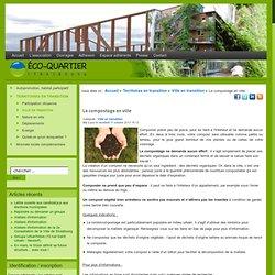 Eco-Quartier Strasbourg - Le compostage en ville