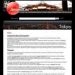 Tokyo, la ville et ses quartier. Le japon à travers sa capital. - Japonais.eu - [ Le Japon ]