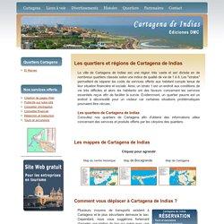 Les quartiers de Cartagena de Indias en Colombie - Cartagena-Indias