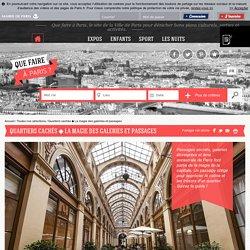 Que faire à Paris Quartiers cachés La magie des galeries et passages