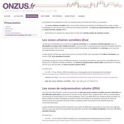 ONZUS.fr - Observatoire National de la Politique de la Ville