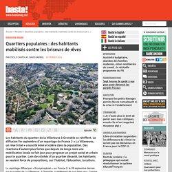 Quartiers populaires : des habitants mobilisés contre les briseurs de rêves