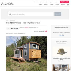Quartz Tiny House - Free Tiny House Plans