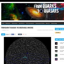 From Quark to Quasar: The Observable Universe