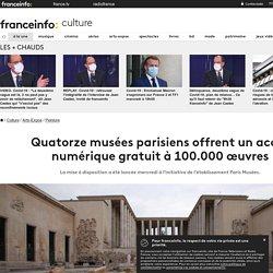 Quatorze musées parisiens offrent un accès numérique gratuit à 100.000 œuvres
