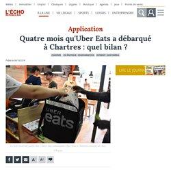 L ECHO REPUBLICAIN 06/10/18 Application - Quatre mois qu'Uber Eats a débarqué à Chartres : quel bilan ?