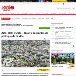 ZUS, ZEP, CUCS… Quatre décennies de politique de la Ville