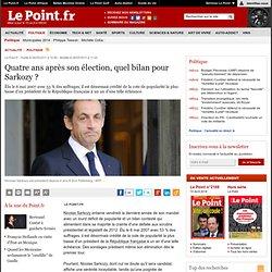 Quatre ans après son élection, quel bilan pour Sarkozy ?