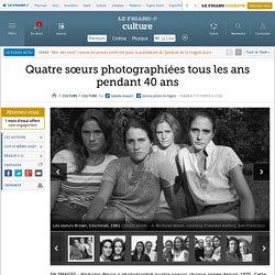 Quatre sœurs photographiées tous les ans pendant 40 ans
