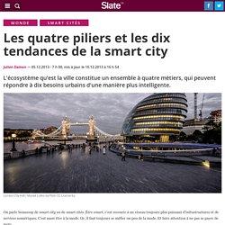 Les quatre piliers et les dix tendances de la smart city