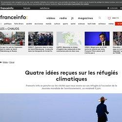 Quatre idées reçues sur les réfugiés climatiques. France TV info.