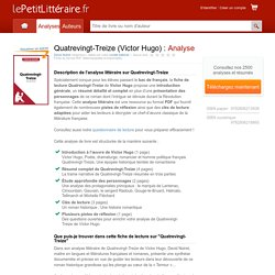 Quatrevingt-Treize (Victor Hugo) : Analyse complète du livre