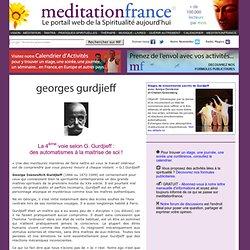 La quatrième voie selon Georges Gurdjieff