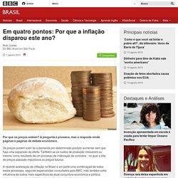 Em quatro pontos: Por que a inflação disparou este ano? - BBC Brasil