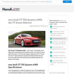 2017 Audi TT TDI Quattro AWD Specs, Engine Reviews