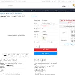 Máy Quay Phim Hành Trình DJI Osmo Action giá rẻ, chính hãng, Trả Góp 0% tại Kyma