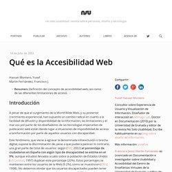 Qué es la Accesibilidad Web