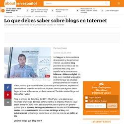 ¿Qué es un blog? - Lo que debes saber