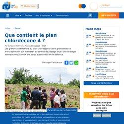 RCI_FM 18/11/20 Que contient le plan chlordécone 4 ? (accès notamment à une émission d'1H30 du 23/09/20 via youtube)
