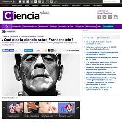¿Qué dice la ciencia sobre Frankenstein?