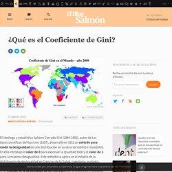 ¿Qué es el Coeficiente de Gini?