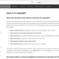 ¿Qué es el copyright?