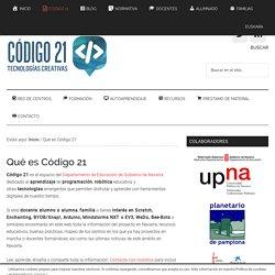 ¿Qué es Código 21?