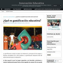 ¿Qué es gamificación educativa?