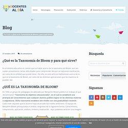 ¿Qué es la Taxonomía de Bloom y para qué sirve?