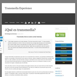 ¿Qué es transmedia? - Transmedia Experience