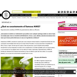 ¿Qué es exactamente el famoso MMS?