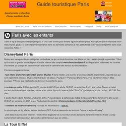 Que faire à Paris avec les enfants