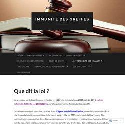 Immunité des greffes