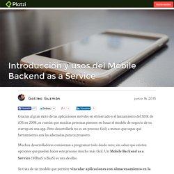 Qué es Mobile Backend as a Service