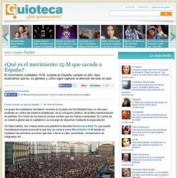 ¿Qué es el movimiento 15-M que sacude a España?