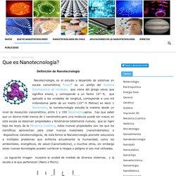 Avances en Nanotecnología