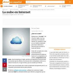 Qué es la nube en Internet y cómo se usa